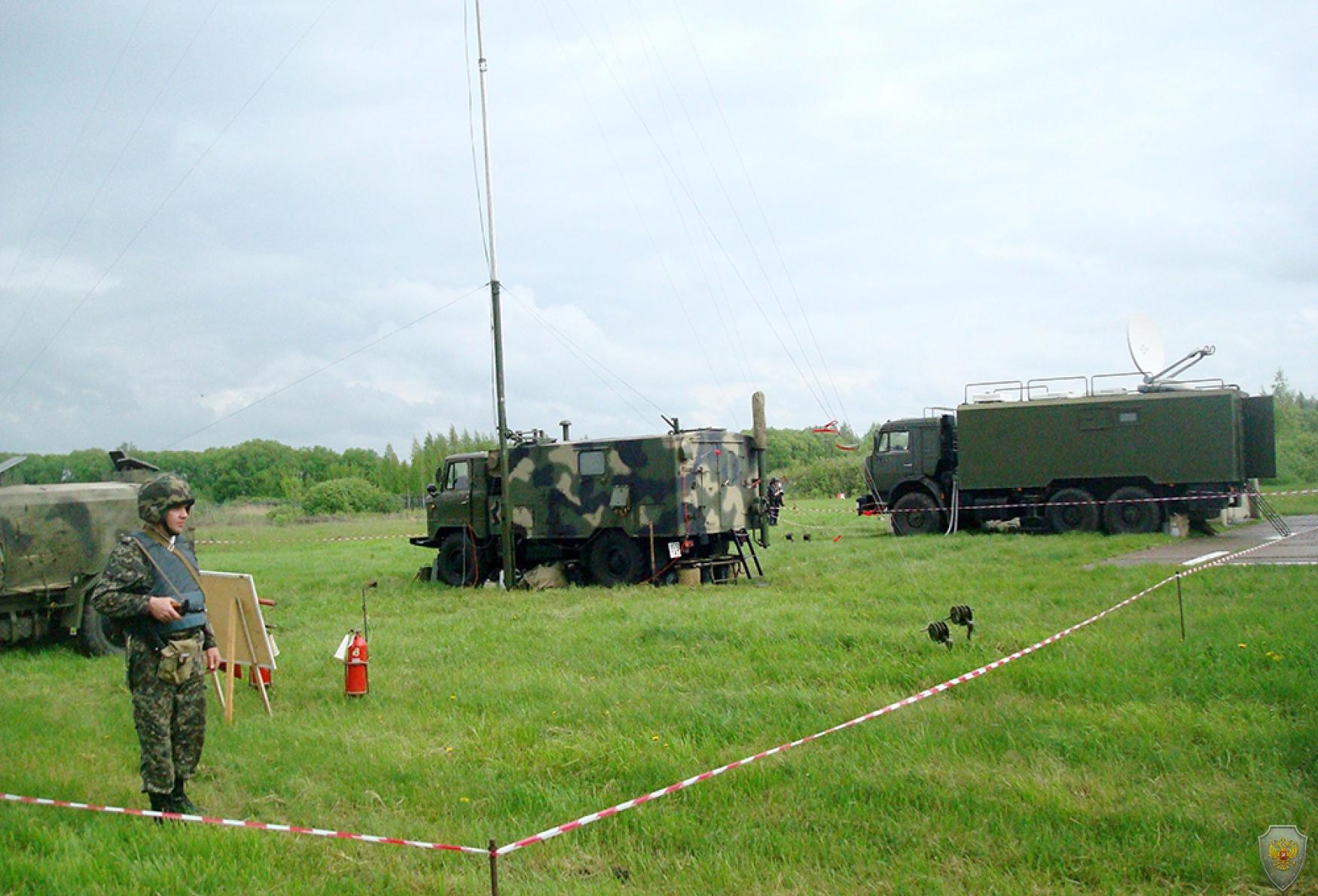 Вспомогательный пункт управления оперативного штаба