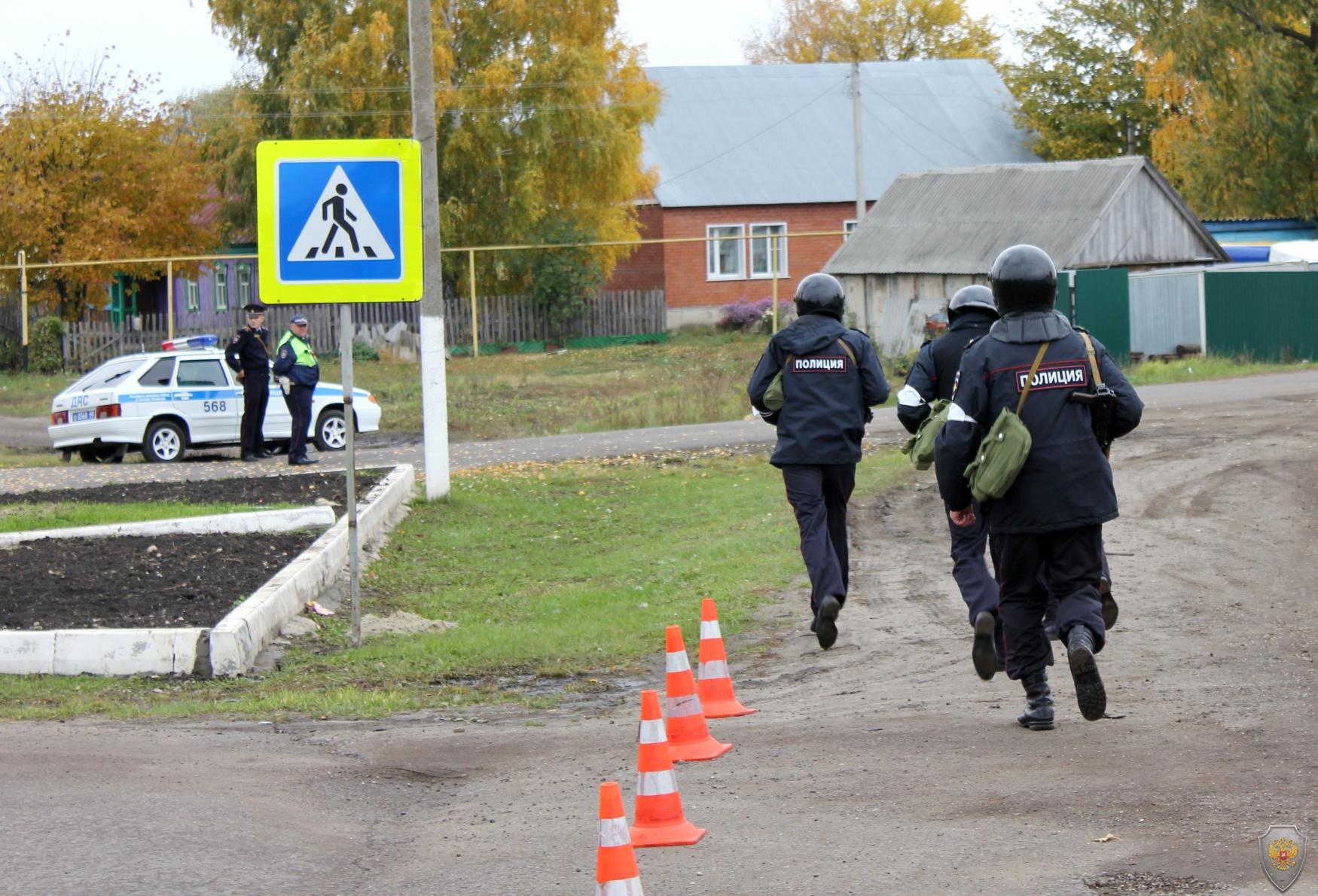 Оцепление здания Гавриловского районного суда