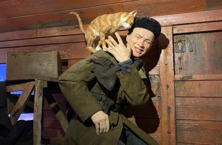 """""""Поезд Победы"""" покидает Ленинградскую область"""