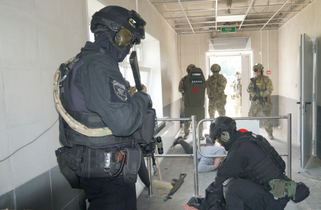 Оперативным штабом в Псковской области проведено антитеррористическое учение