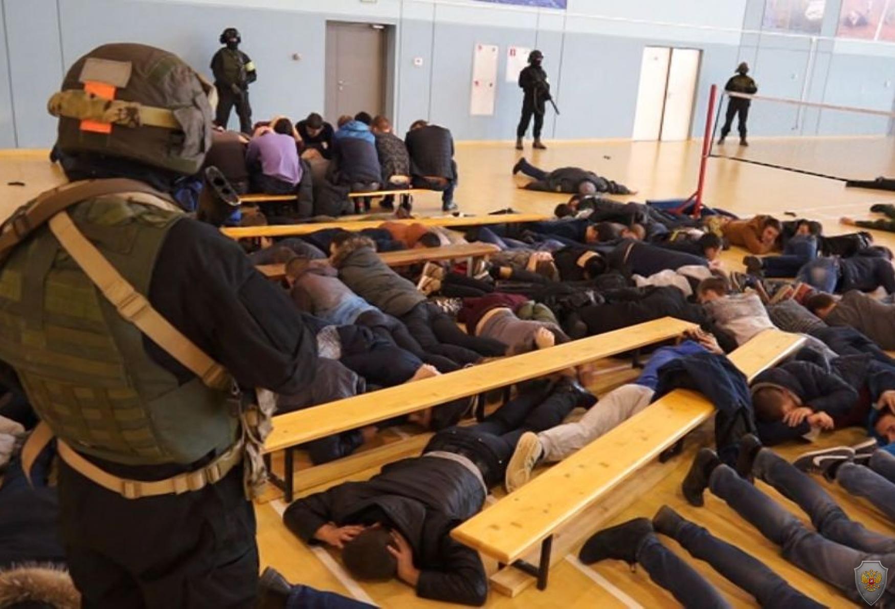 Освобождение заложников и нейтрализация террористов