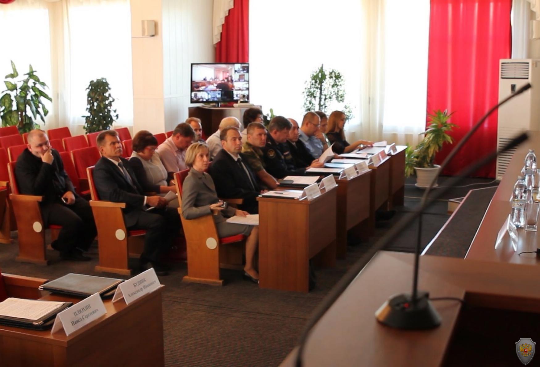 Открытие  выездного заседания АТК в Томской области