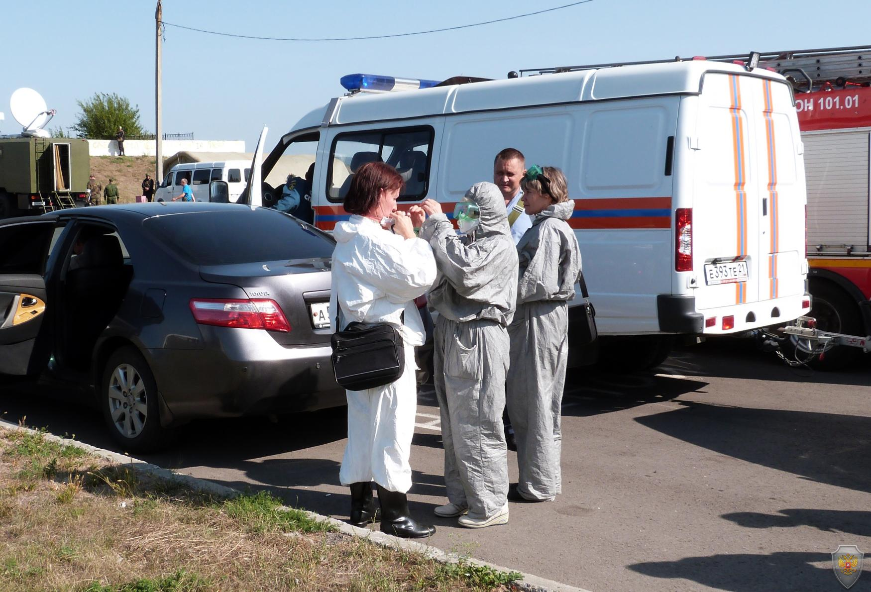 Оперативным штабом в Чувашской Республике проведено антитеррористическое учение по пресечению условного террористического акта на гидротехническом сооружении