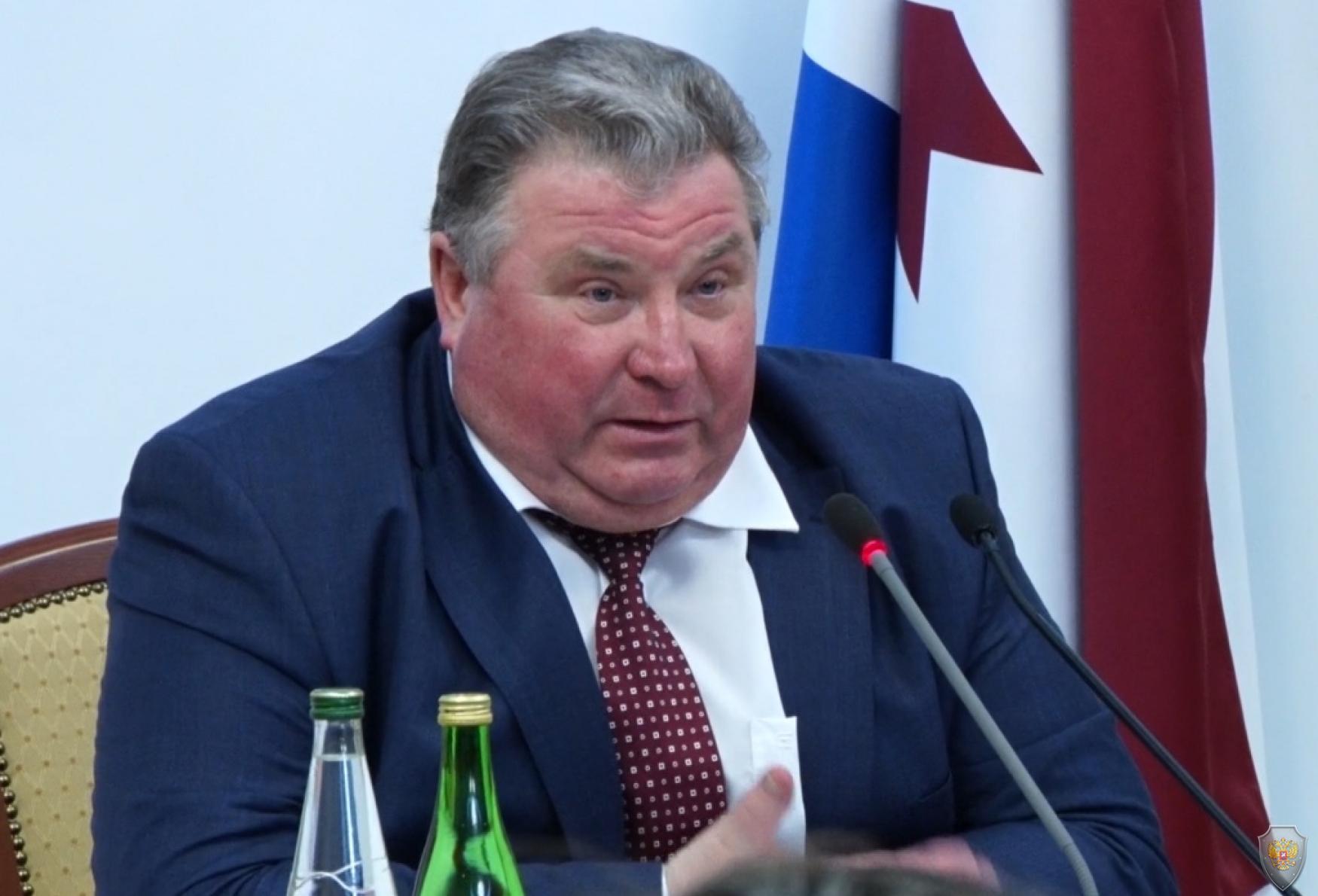 Председатель Антитеррористической комиссии, Глава Республики Мордовия открывает совместное заседание