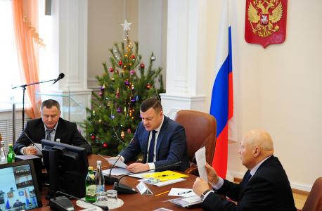 Выступление председателя АТК, главы администрации Тамбовской области Никитина А.В.