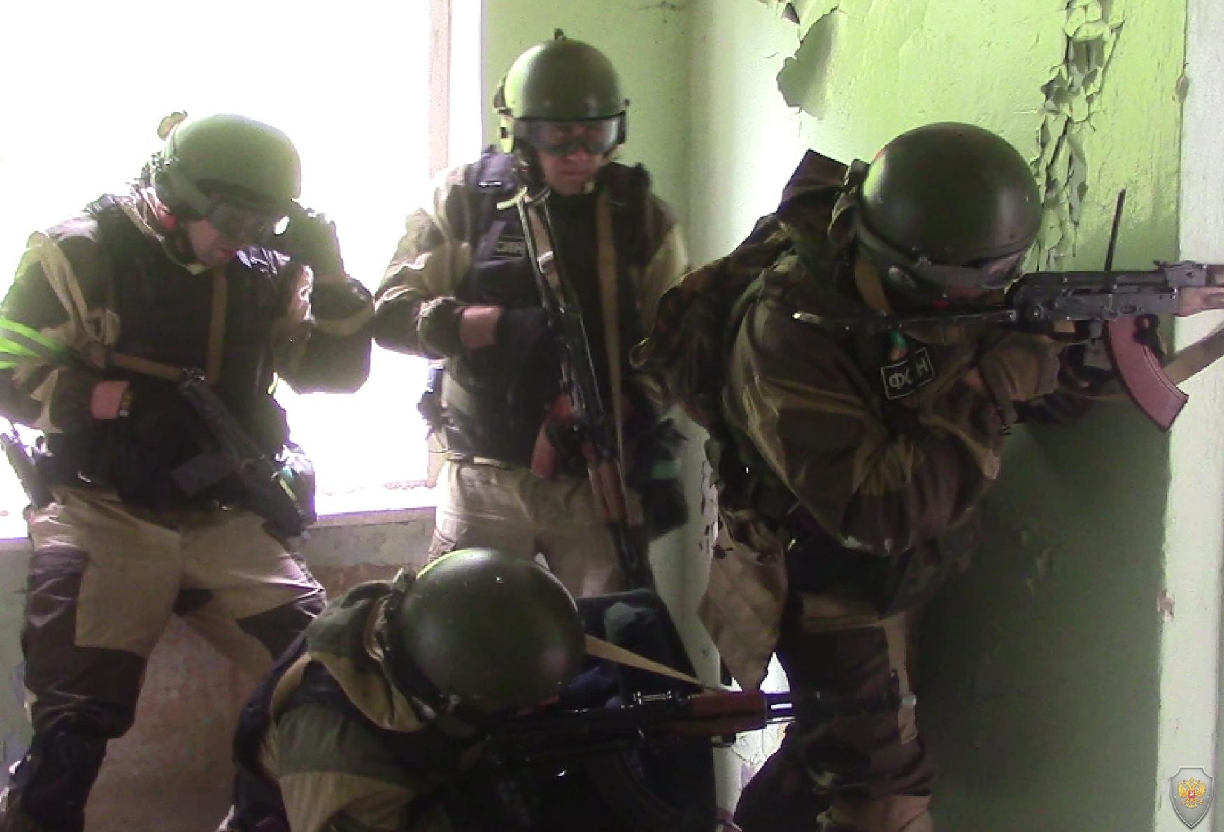 Штурма захваченного «террористами» здания
