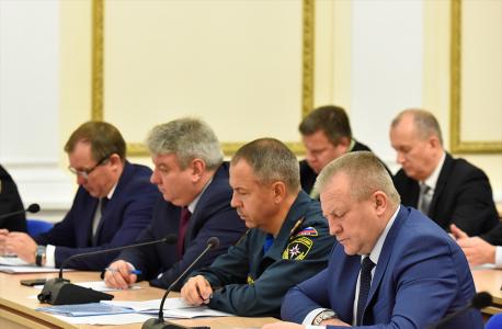 Прошло заседание антитеррористической комиссии в Брянской области