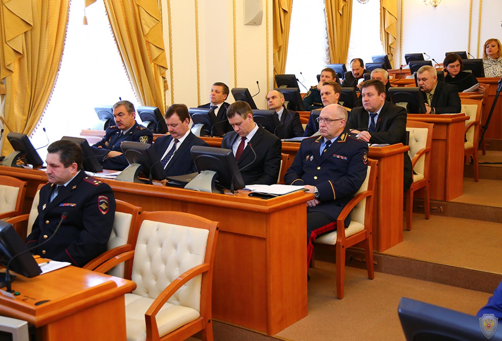Совместное заседание антитеррористической комиссии и Оперативного штаба Курганской области