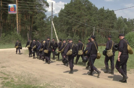 Выдвижение отдельных функциональных групп в район проведения боевого мероприятия