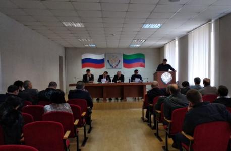 Итоги деятельности антитеррористической комиссии обсудили в Кумторкалинском районе