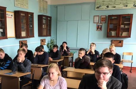 Молодежи Кировского района рассказали об общественной опасности терроризма