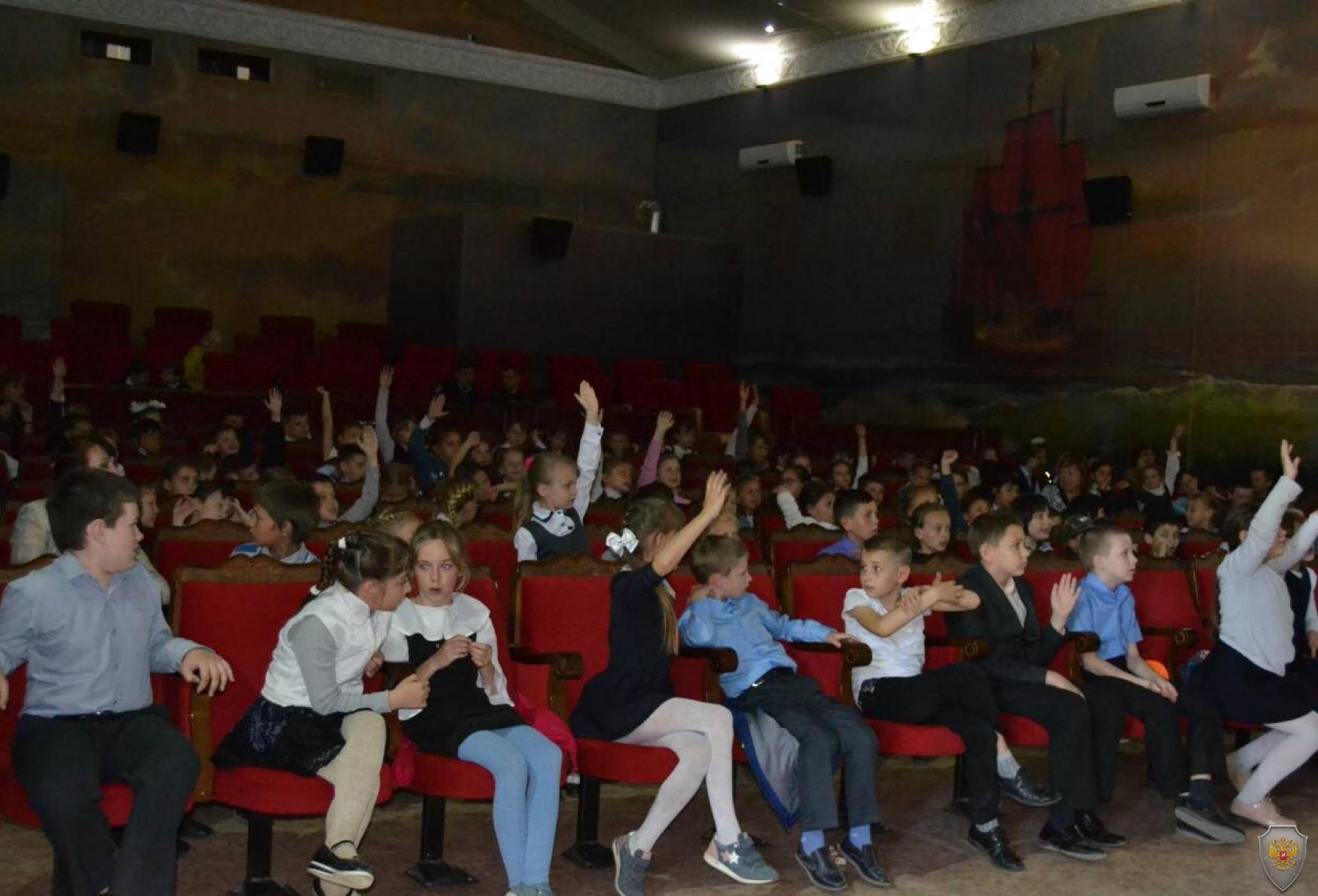 Проведено занятие по комплексной безопасности с учащимися младших классов школ Нахимовского района города Севастополя
