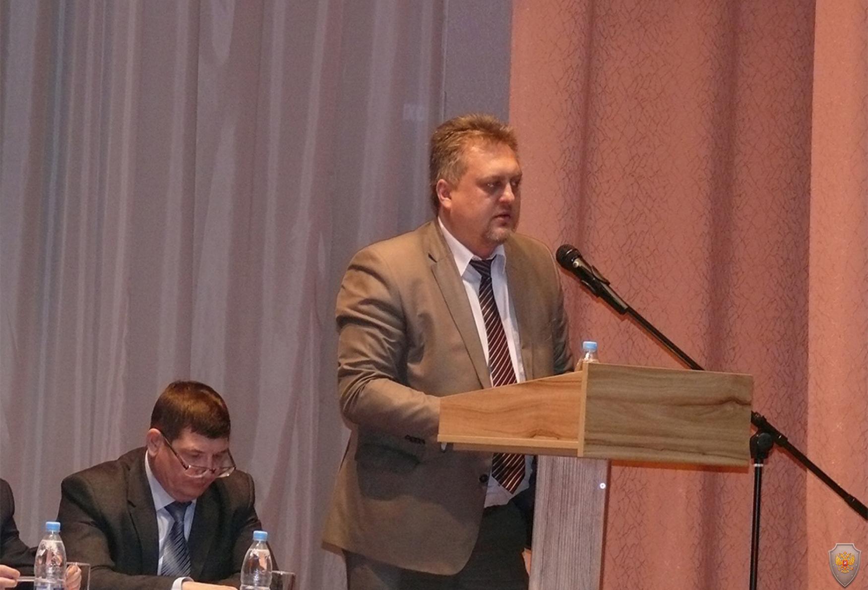 Выступление представителя аппарата антитеррористической комиссии Самарской области