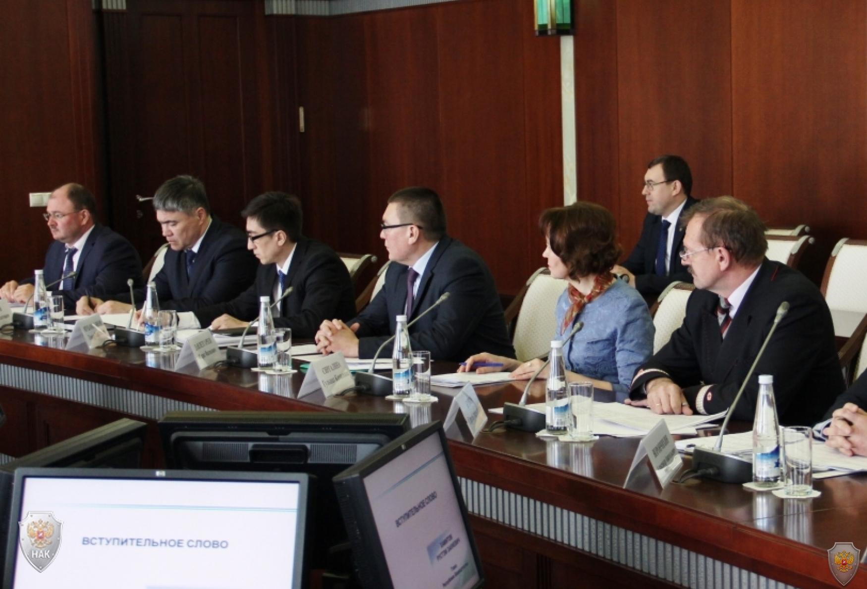 Заседание антитеррористической комиссии Республики Башкортостан 26 марта 2018 года