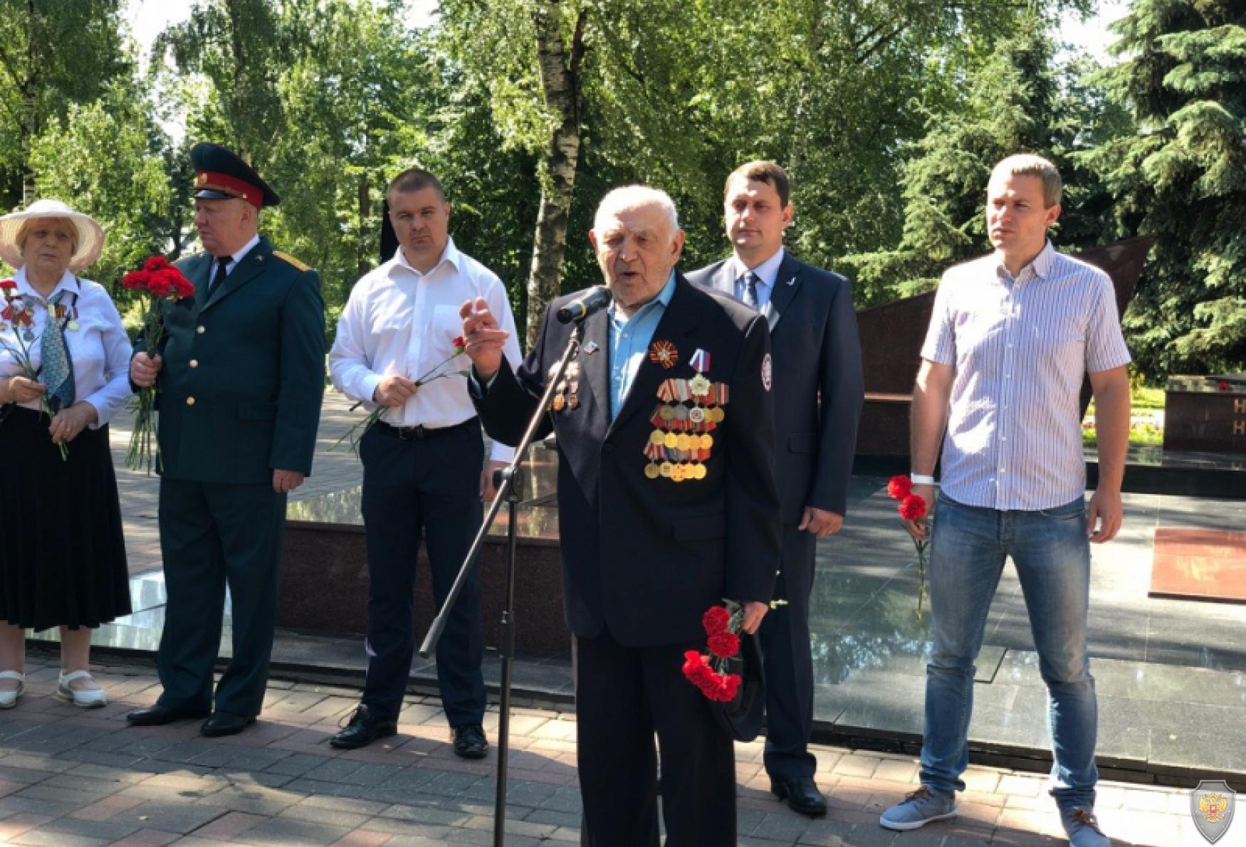 Выступление ветеранов ВОВ