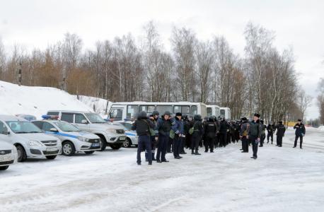 Оперативным штабом в Смоленской области проведено командно-штабное учение