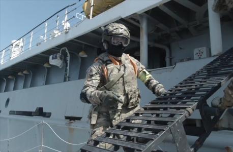 В акватории Черного моря прошли антитеррористические учения