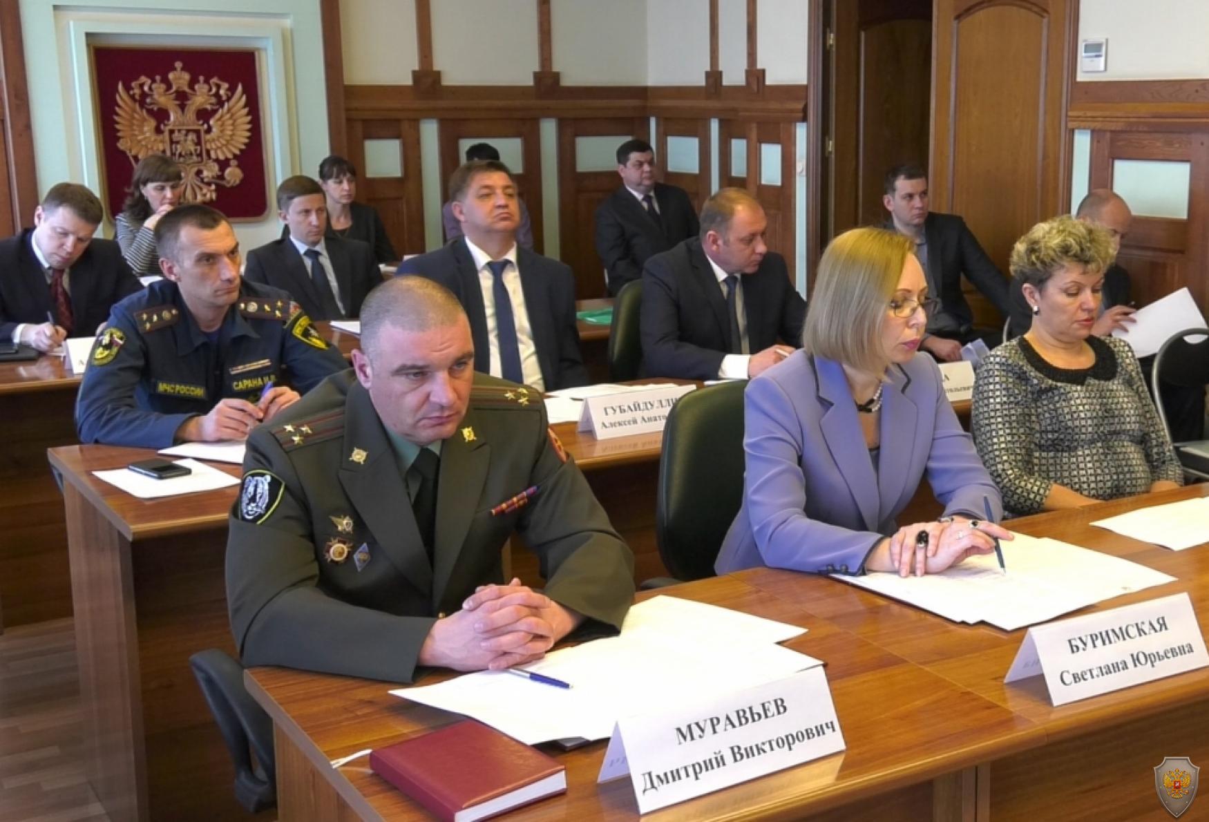 Губернатор Владимир Миклушевский  провел очередное заседание антитеррористической комиссии Приморского края
