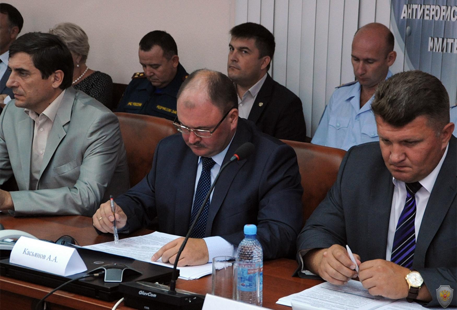 Докладывает Секретарь межведомственного Совета общественной безопасности Республики Башкортостан Алексей Анатольевич Касьянов
