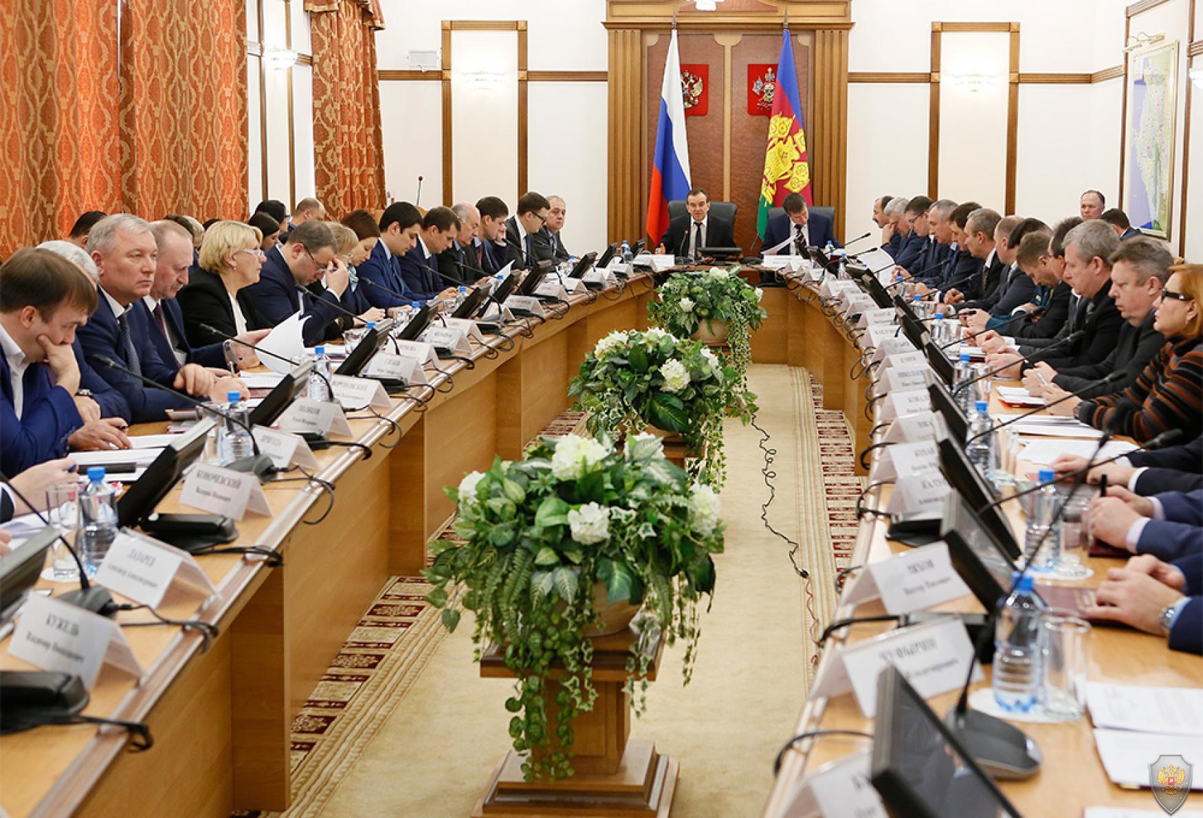 Заседание АТК Краснодарского края