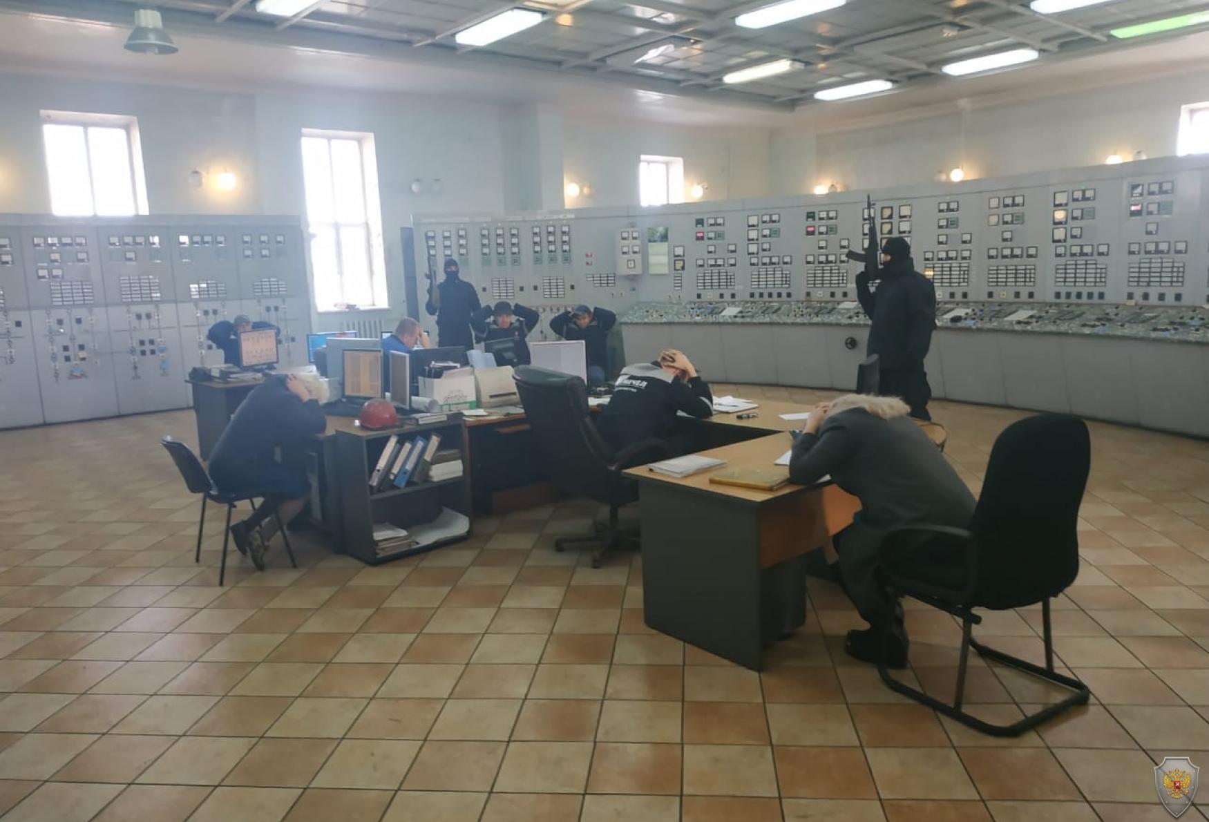 На территории г. Калтана Кемеровской области проведено командно-штабное учение «Молния – 2018».
