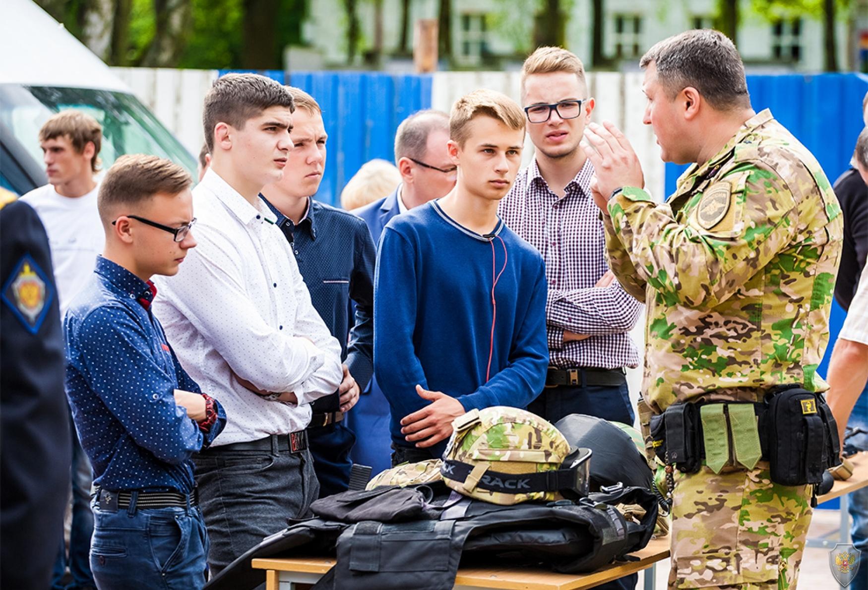 Инсталляция «Безопасная Россия» и выставка вооружения подразделений специального назначения