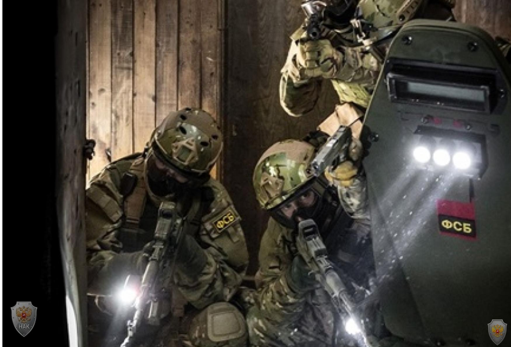 Будни ведомственного спецназа. Фото: из архивов ФСБ РФ
