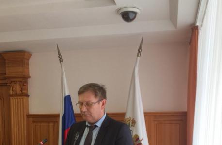 Выступление заместителя начальника Департамента по недропользованию и развитию нефтегазодобывающего комплекса О.А. Сергеева.