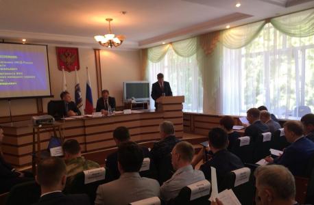 Выступление заместителя начальника УФСБ России по Томской области Сергея Васильевича Труша