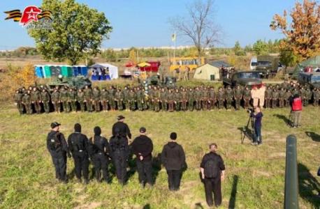 Юные патриоты Ленинградской области приняли участие в соревнованиях