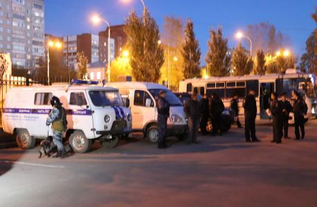 Оперативный штаб в Свердловской области провел антитеррористические учения