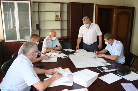 Оперативным штабом в Тамбовской области проведено командно-штабное учение