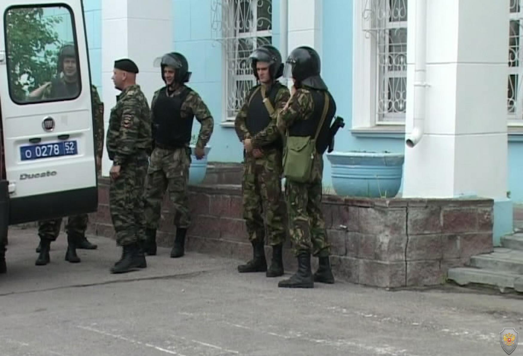 Тактико-специальное учение «Набат-МАНН-2014». Нижний Новгород. 7 июня 2014 года