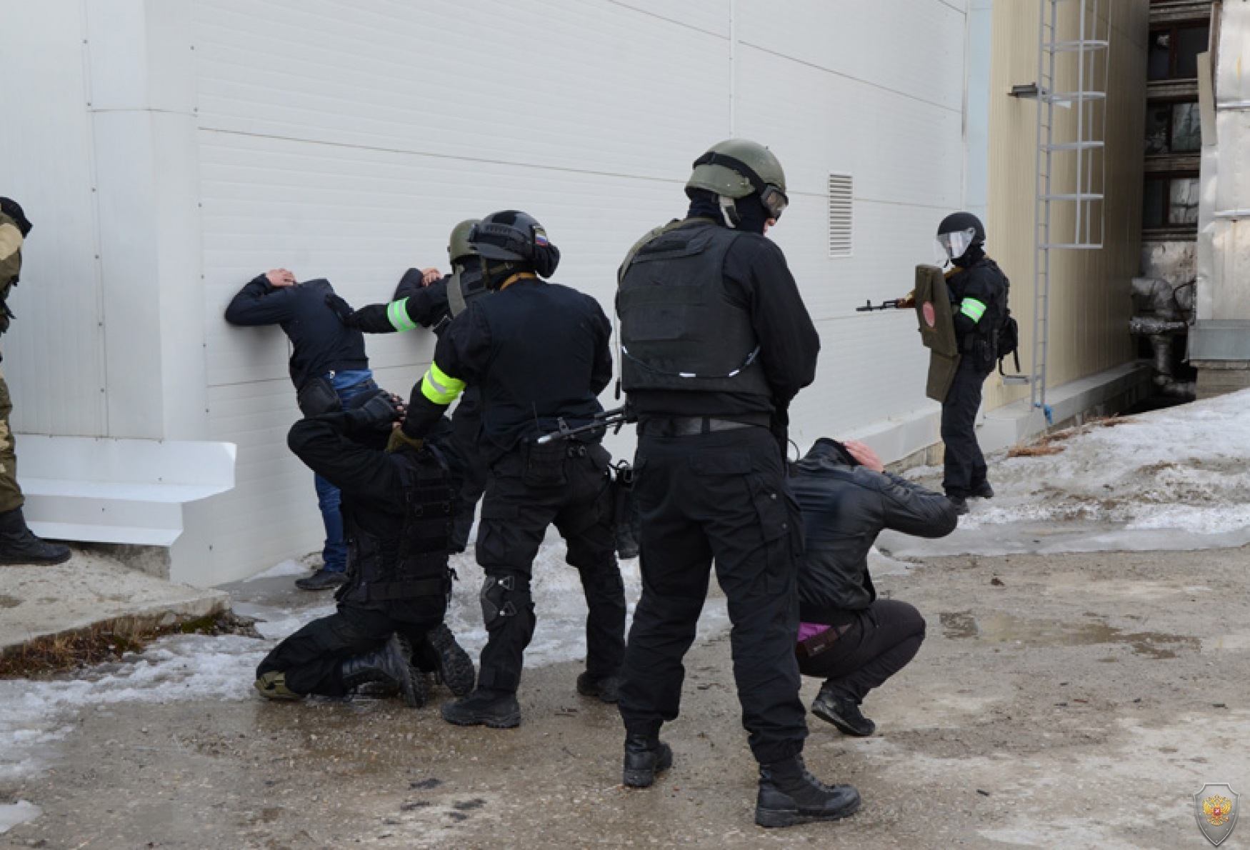 Тактико-специальное учение «Метель-2014». Республика Саха (Якутия). 20 мая 2014 года