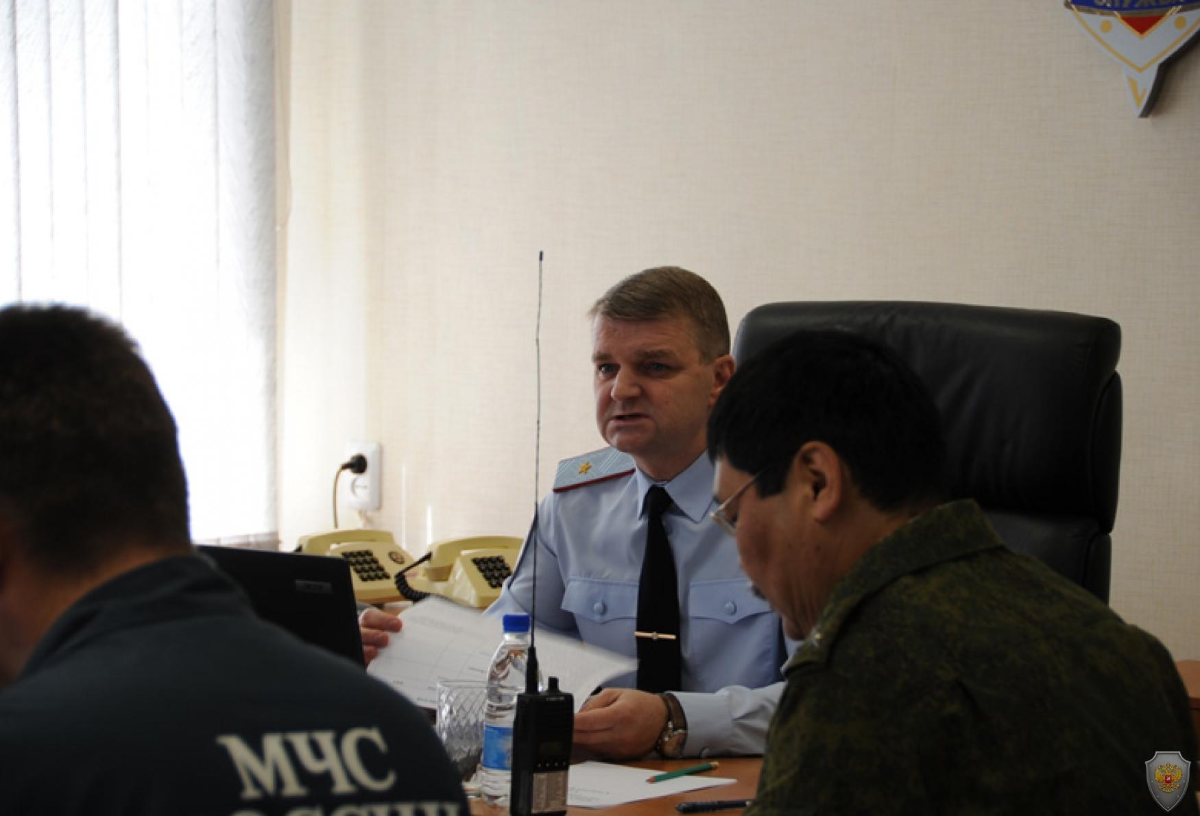 Тактико-специальные учения «Гроза - ГТРК «Горный Алтай». Республика Алтай. 23 мая 2014 года