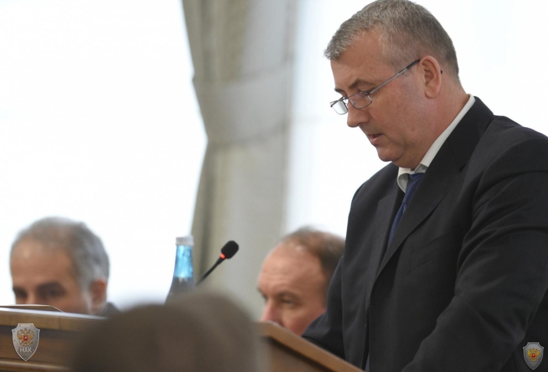 Выступление Министра внутренних дел по Республике Адыгея - Владимира Анатольевича Алай
