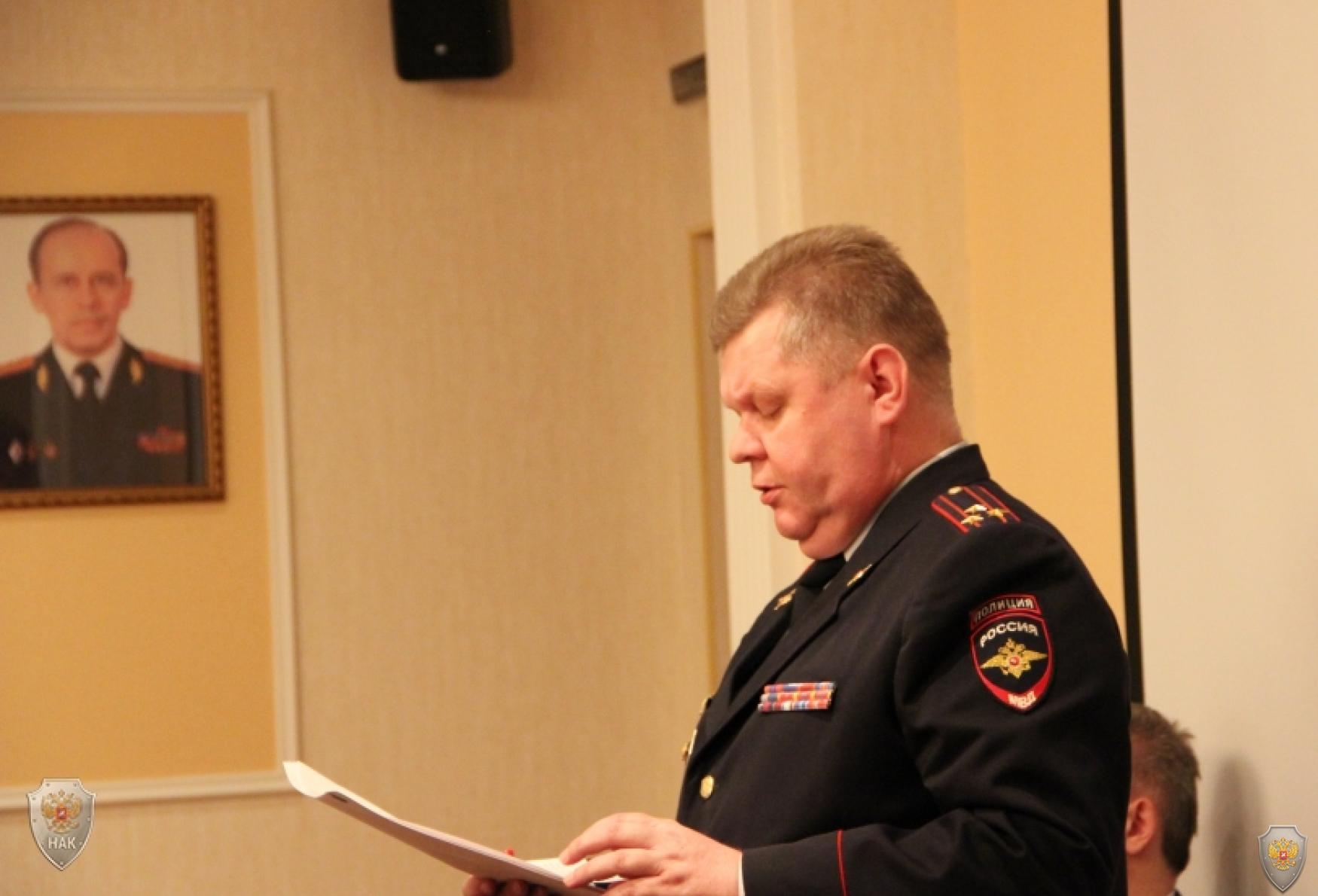 Выступление заместителя начальника полиции МВД по Республике Мордовия Пинаева В.А.