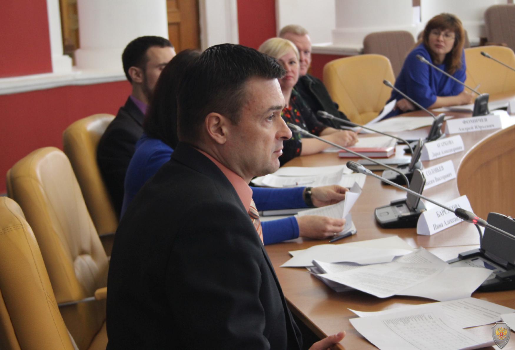 Заместитель председателя Экспертного совета, руководитель аппарата АТК в Орловской области А. М. Кабин