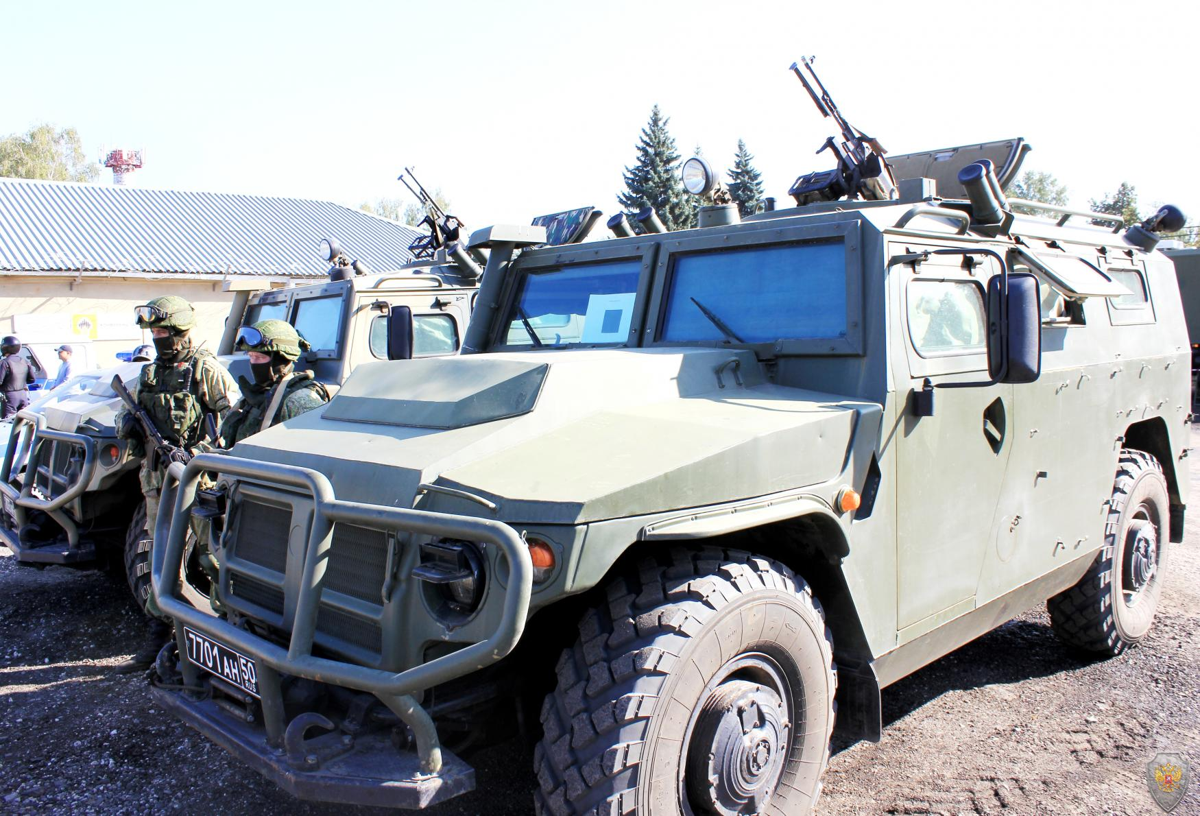 Оперативным штабом в Тамбовской области проведено тактико-специальное учение по пресечению террористического акта на объекте топливно-энергетического комплекса