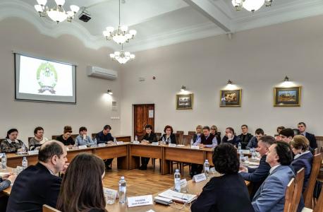 Дискуссия участников мероприятия