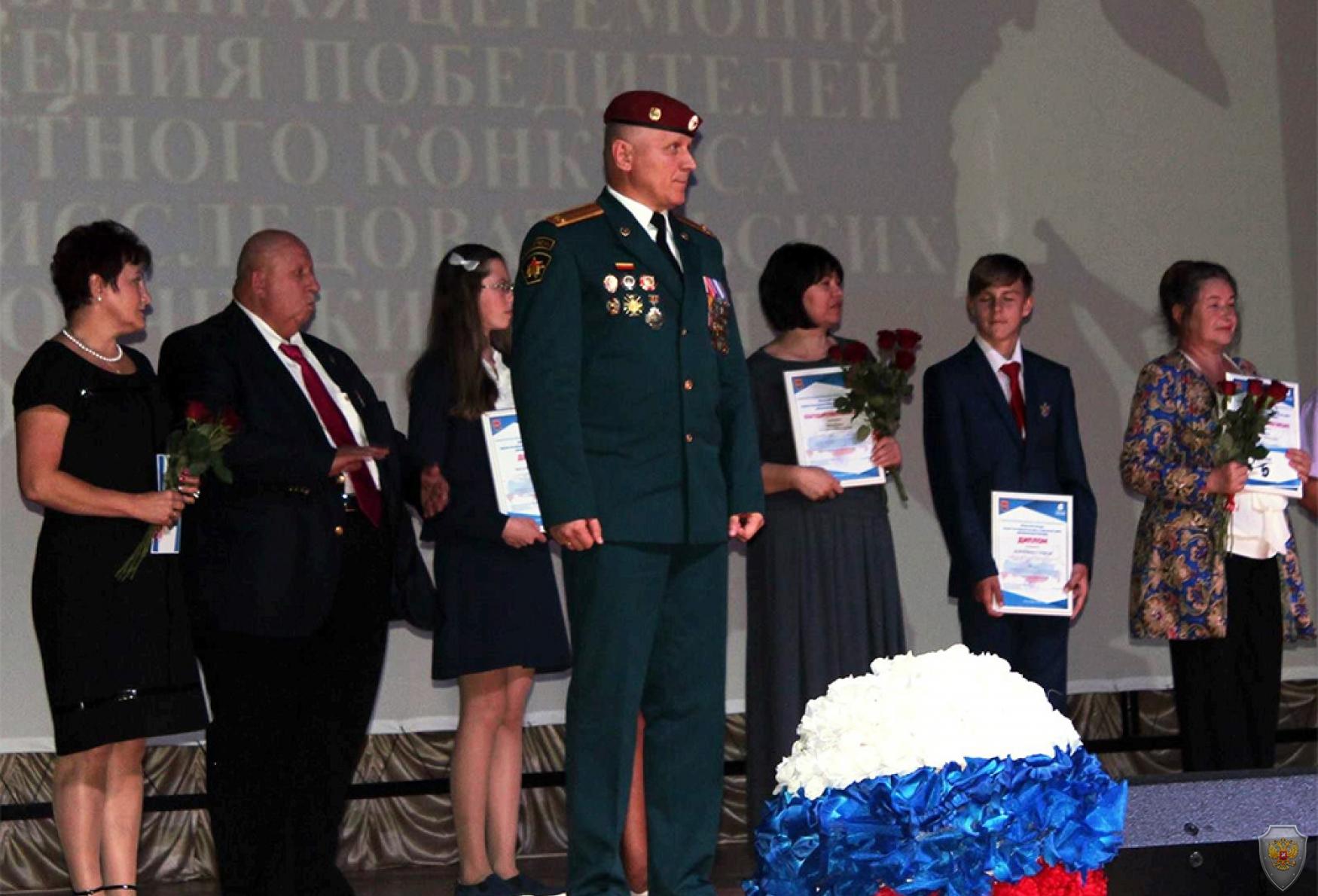 Участники памятного мероприятия