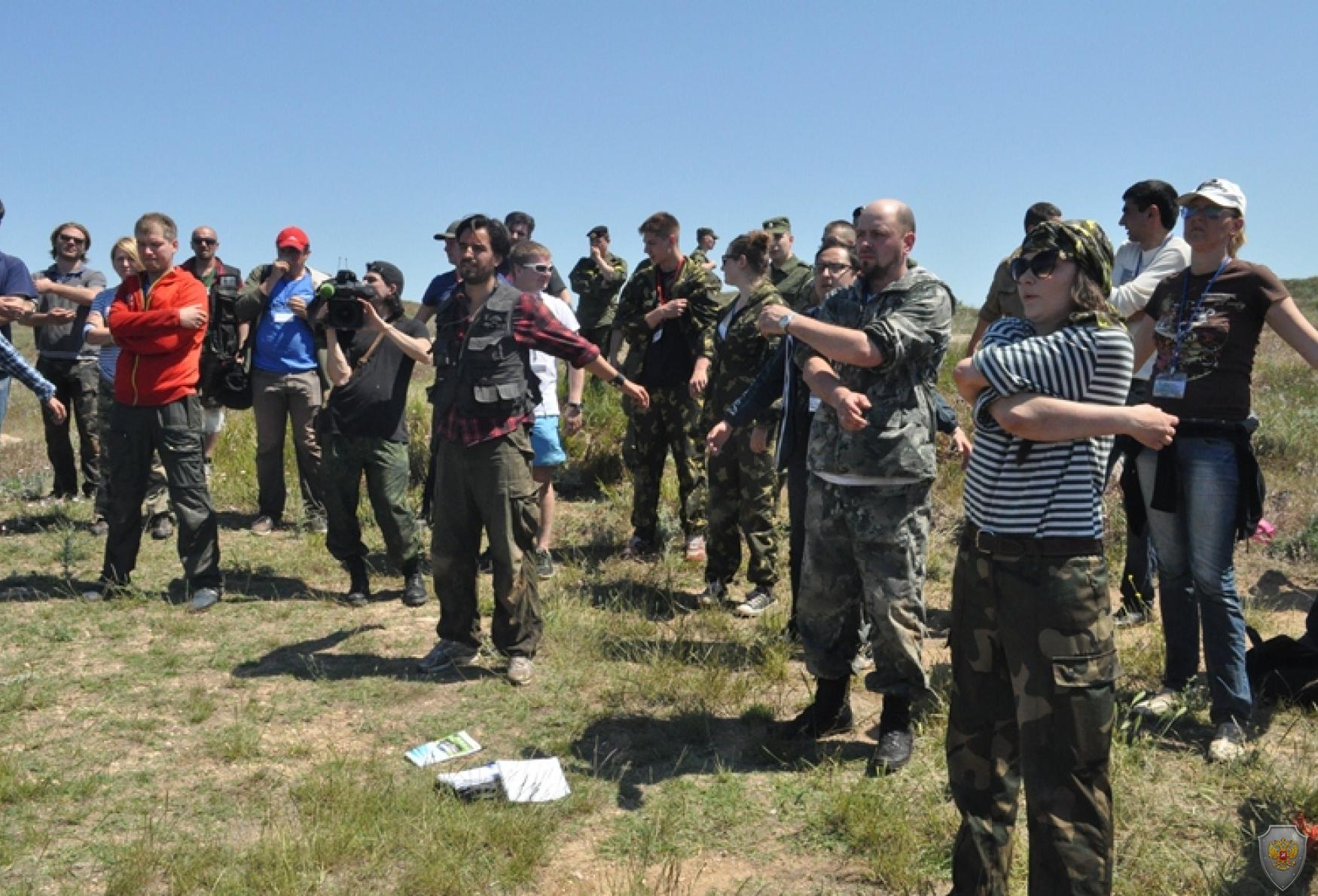 В Севастополе прошли учебно-практические курсы «Бастион»