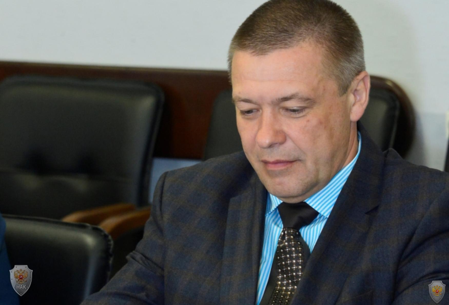 Начальник СУ СК России по Республике Тыва А.Е. Потапов