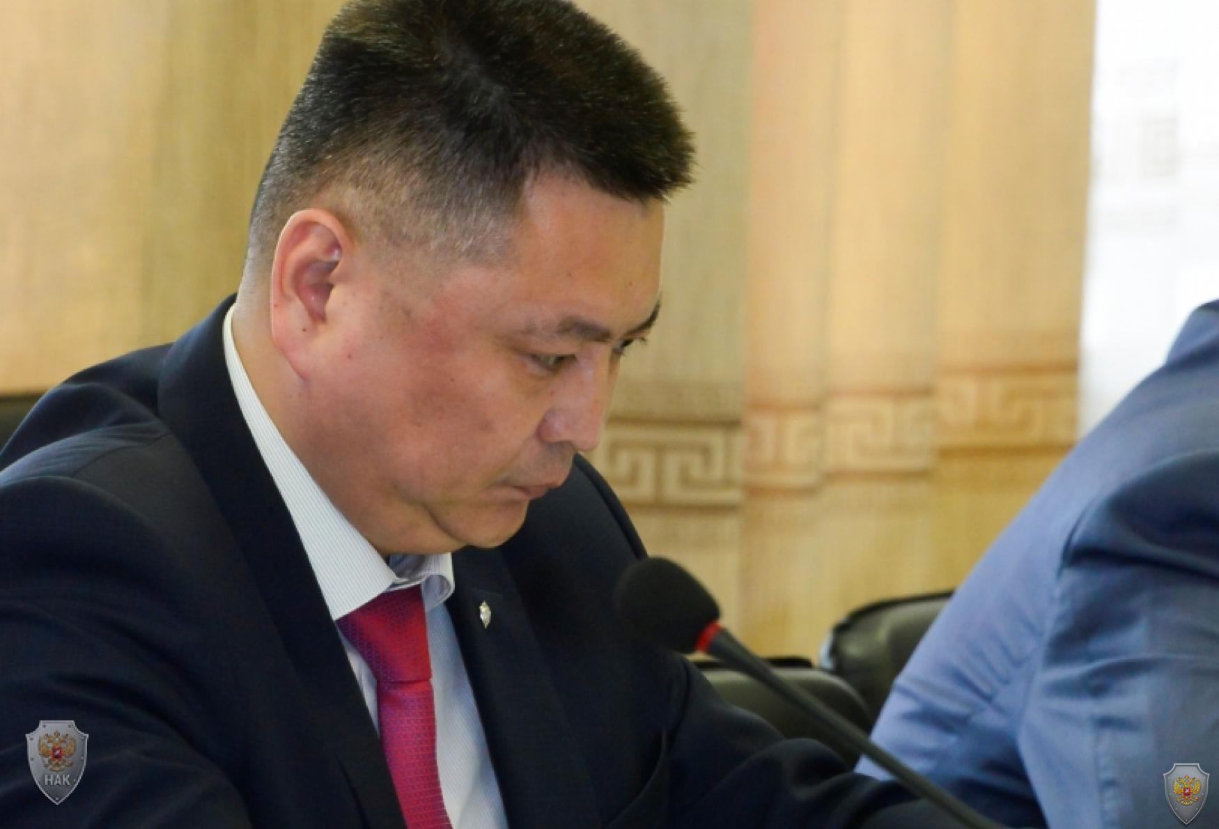 Руководитель аппарата антитеррористической комиссии в Республике Тыва А.О. Куулар