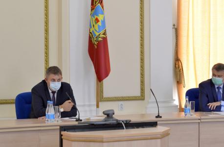Александр Богомаз провел совместное заседание антитеррористической комиссии  и оперативного штаба в Брянской области