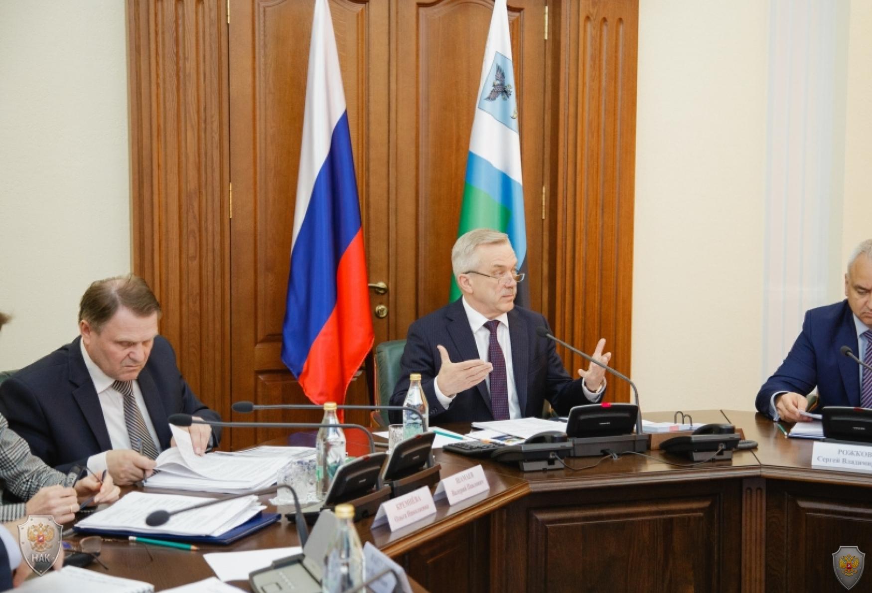 Председатель антитеррористической комиссии в Белгородской области, Губернатор Белгородской области Е.С. Савченко