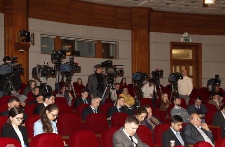 Пресс-конференция представителей Национального антитеррористического комитета в пресс-центре МИД России