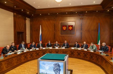 Открытие очередного заседания Антитеррористической комиссии в Республике Коми
