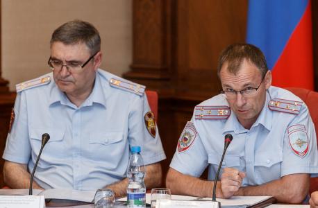 Выступление и.о. министра внутренних дел по Республике Коми Владислава Мингелы
