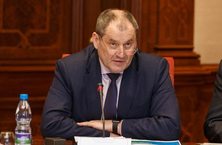 Выступление министра внутренних дел по Республике Коми Виктора  Половникова